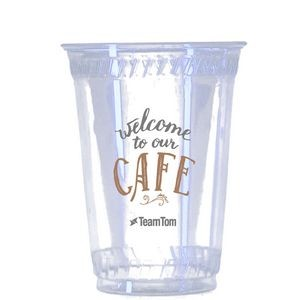 10 Oz. Eco-Friendly Clear Cups - The 500 Line